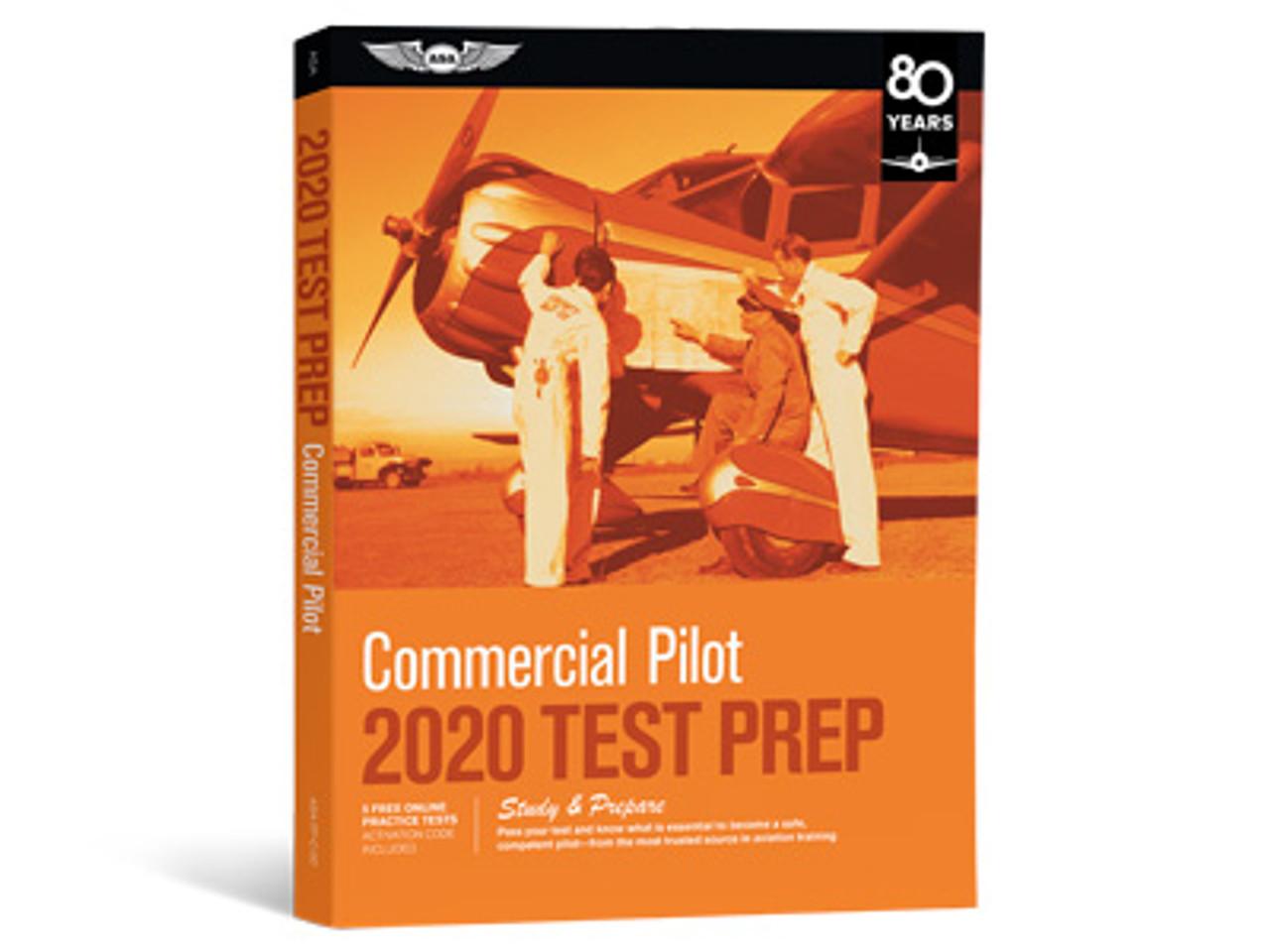 ASA Test Prep 2020: Commercial Pilot