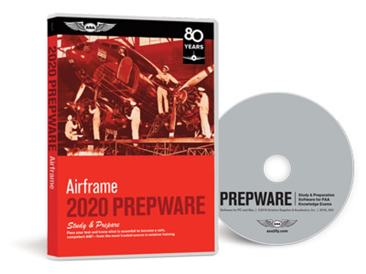 ASA AMT Airframe Prepware 2020