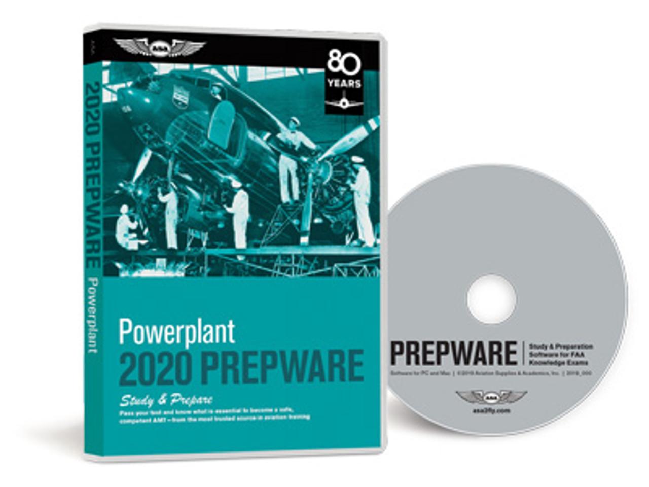 ASA AMT Powerplant Prepware 2020