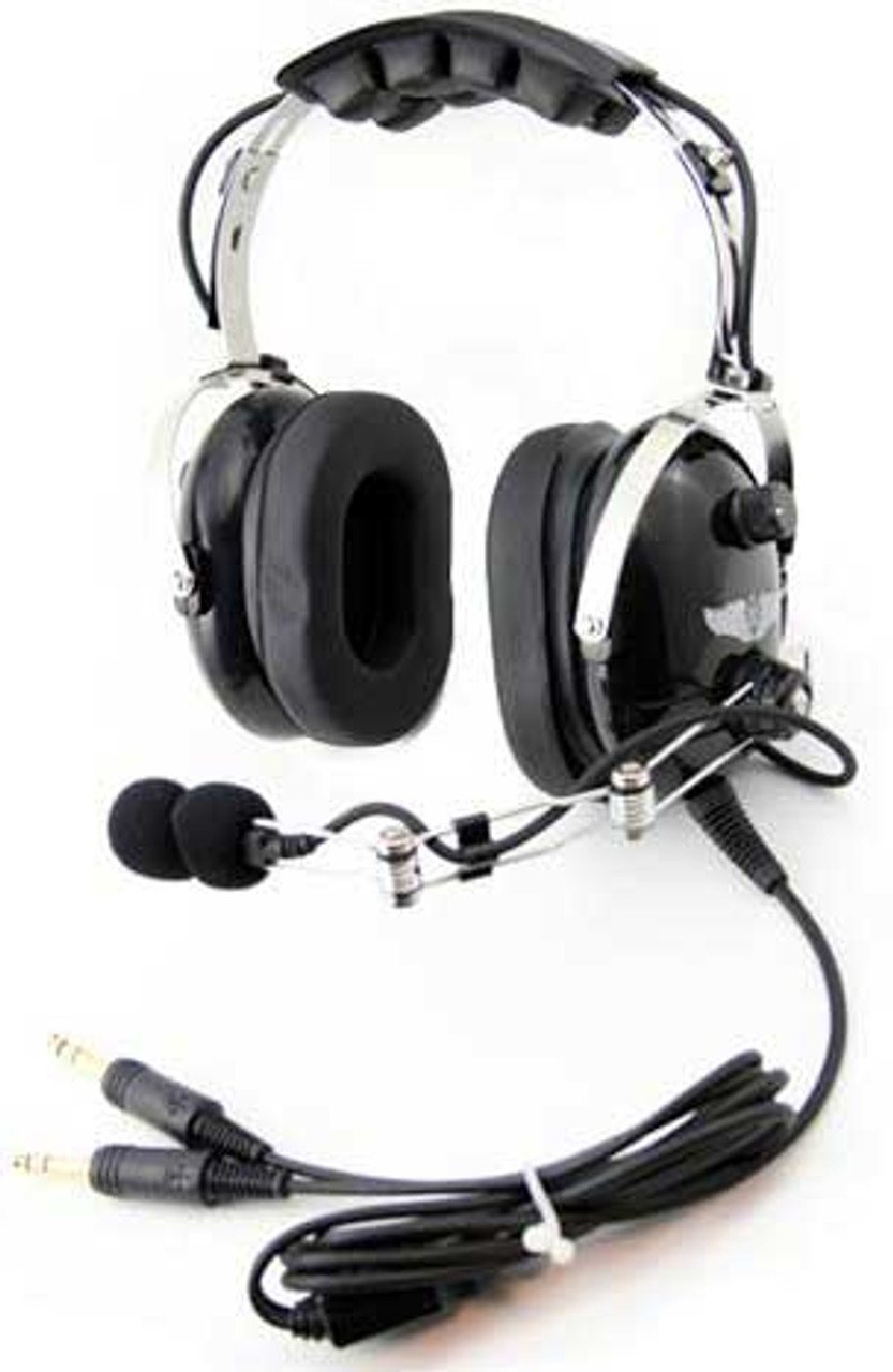 Rugged Air RA454 Stereo Aviation Headset