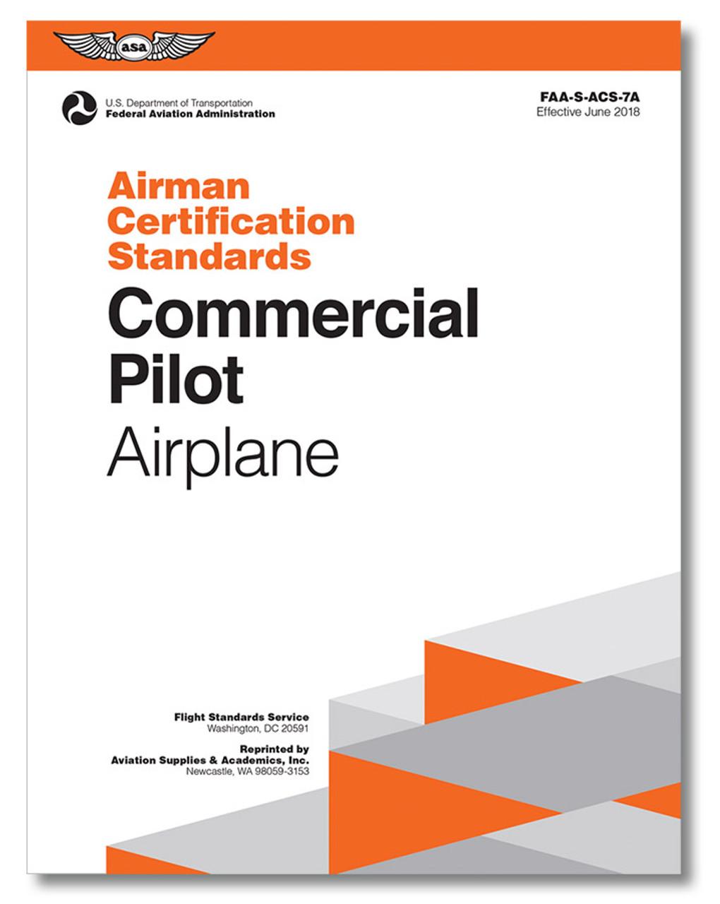ASA Airman Certification Standards: Commercial Pilot Airplane