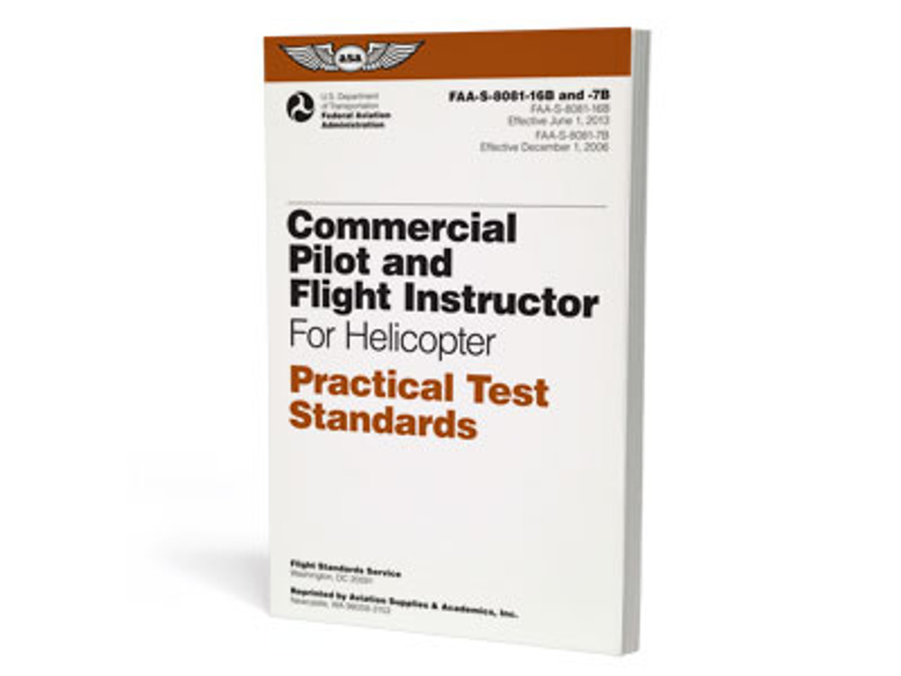 ASA Practical Test Standards: Commercial & CFI - Helicopter
