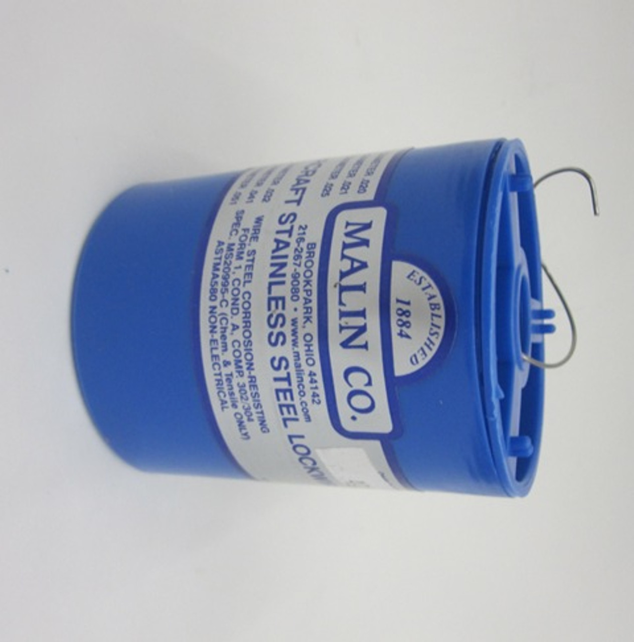"Malin MS20995C21 Safety Wire (1 lb. Roll) - .021"" Diameter"