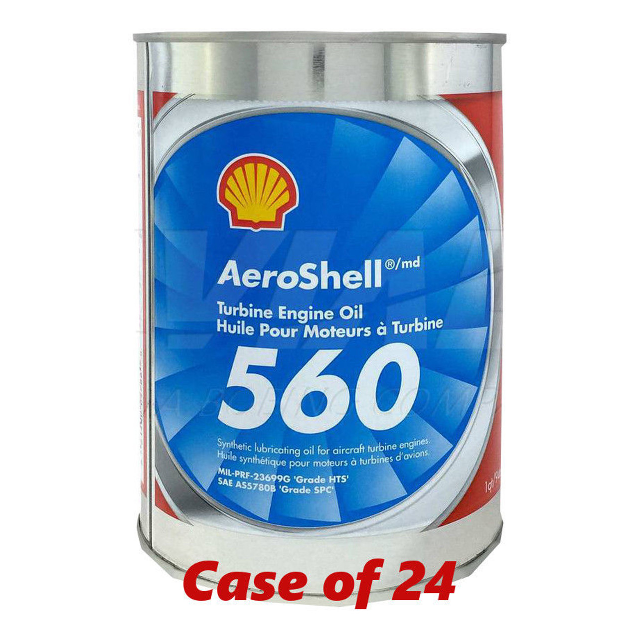Aeroshell 560 Turbine Oil - Case of 24