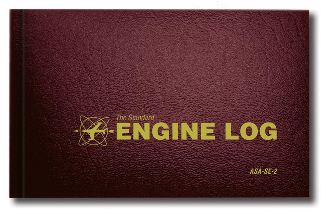 ASA Engine Logbook - Hard Cover