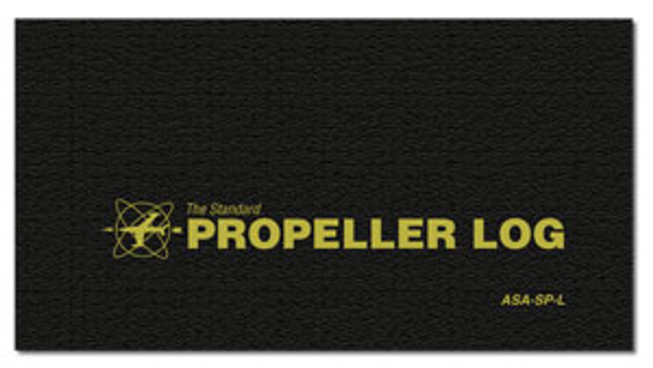 ASA Aircraft Propeller Logbook