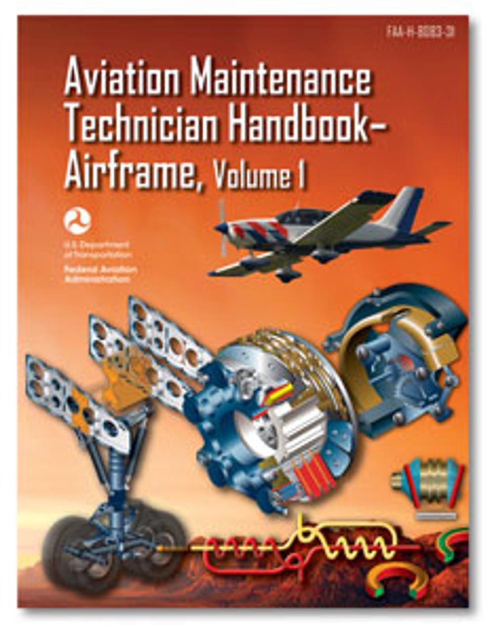 Clearance!! 2 Jeppesen Aviation Maintenance Technician Handbook-Airframe Vol