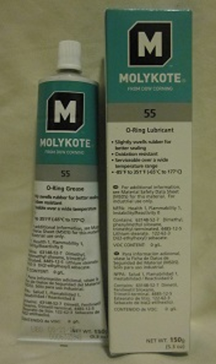 Dow Corning Molykote 55 O-ring Grease - 5.3oz Tube