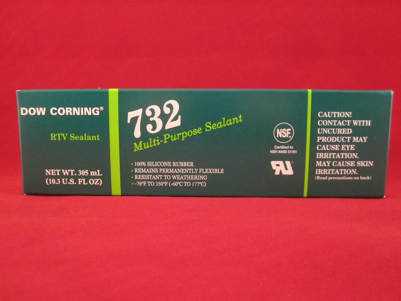 Dow Corning RTV732 Multi-Purpose Silicone Sealant - 305ml (10.3 oz) - Clear