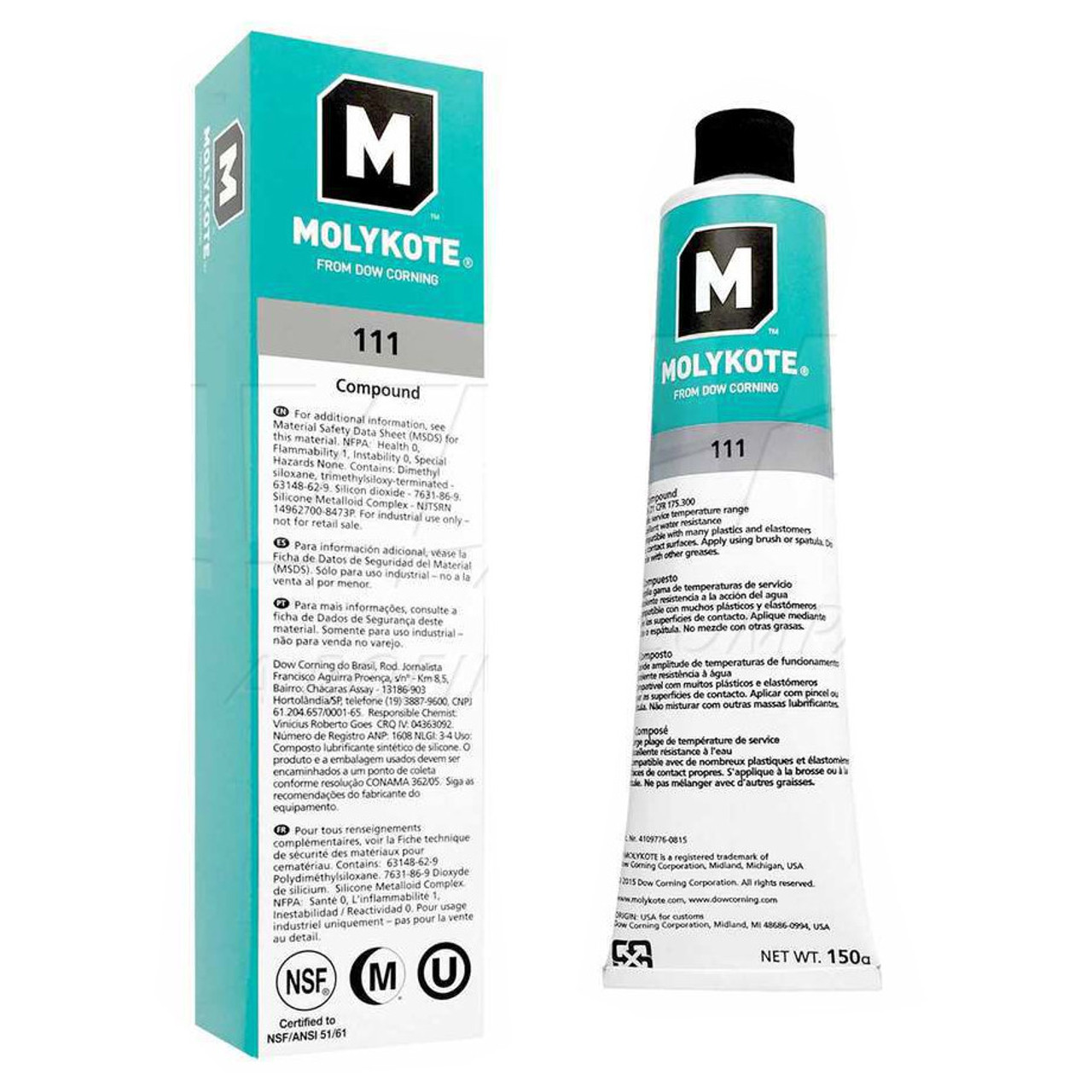 Dow Corning Molykote 111  5.3 oz Tube