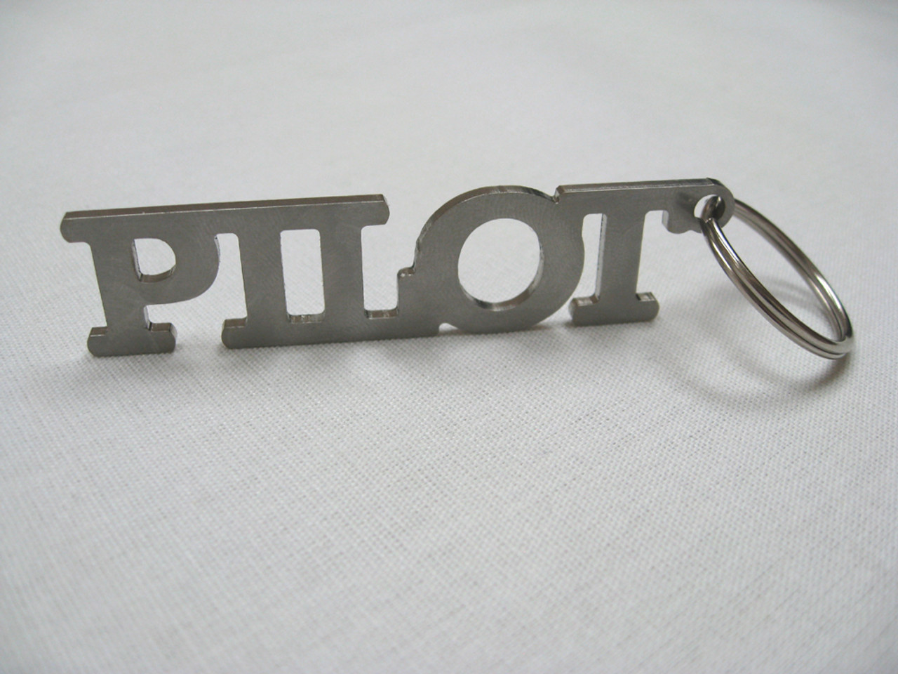 Pilot Stainless Steel Key Chain