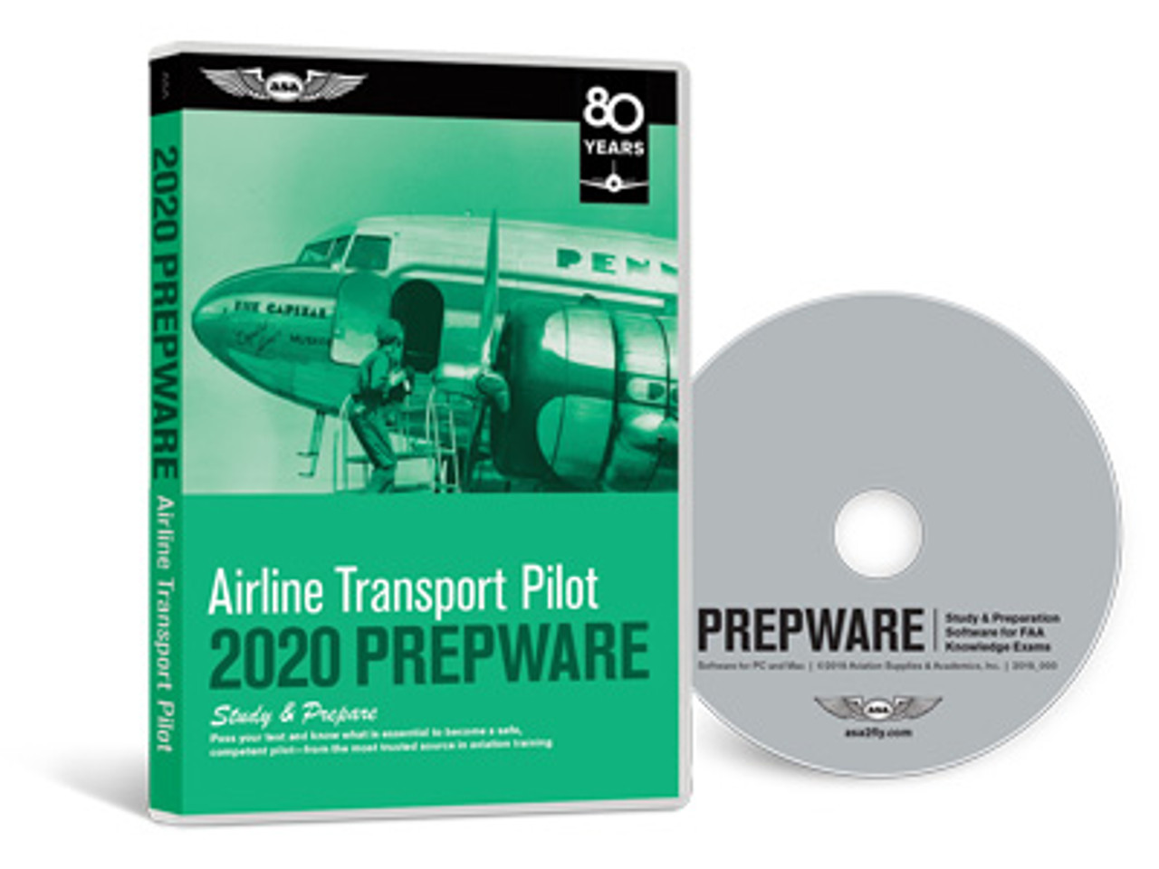 ASA Prepware 2020: Airline Transport Pilot & Flight Engineer