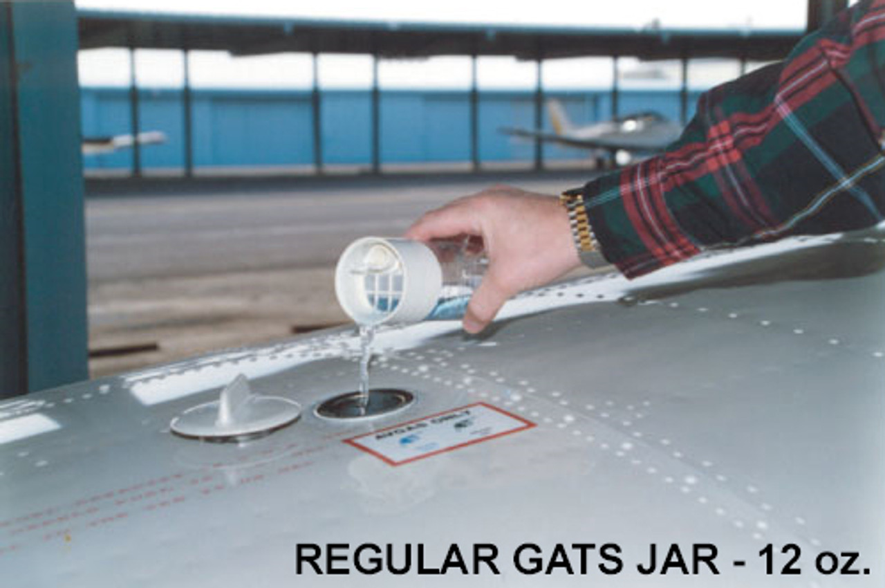 Gats Jar Fuel Tester and Strainer - 12oz
