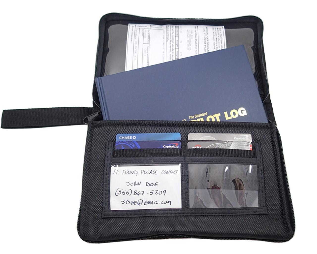 AeroPhoenix Zippered Standard Logbook Case