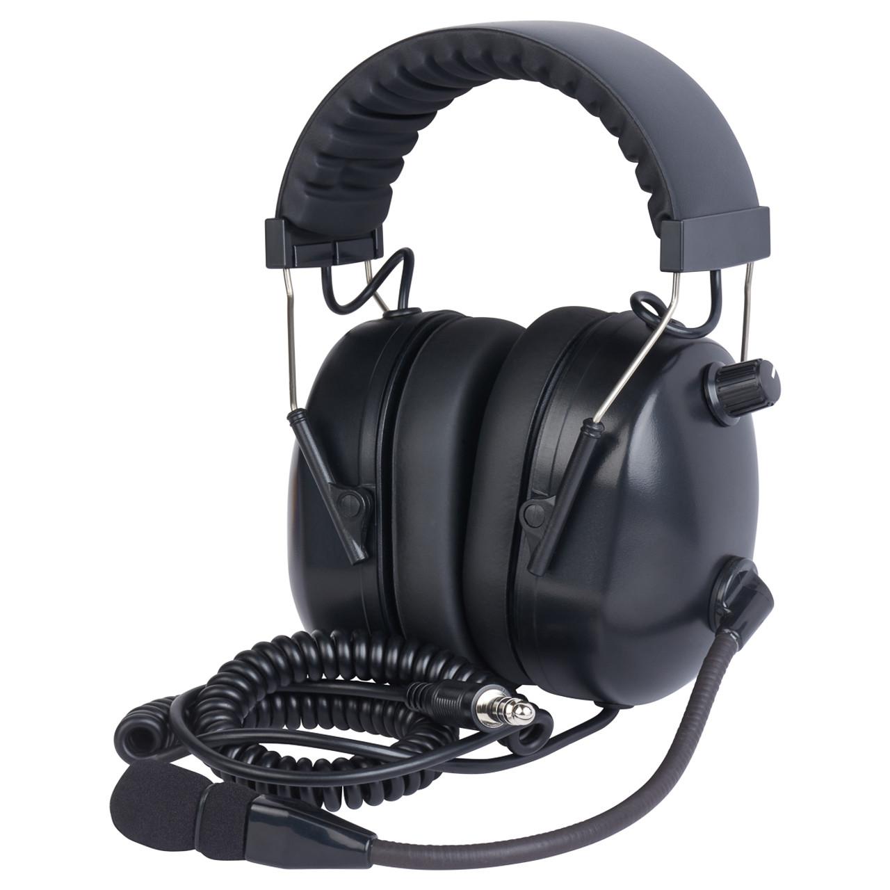WICOM PNR Helicopter Headset - Black