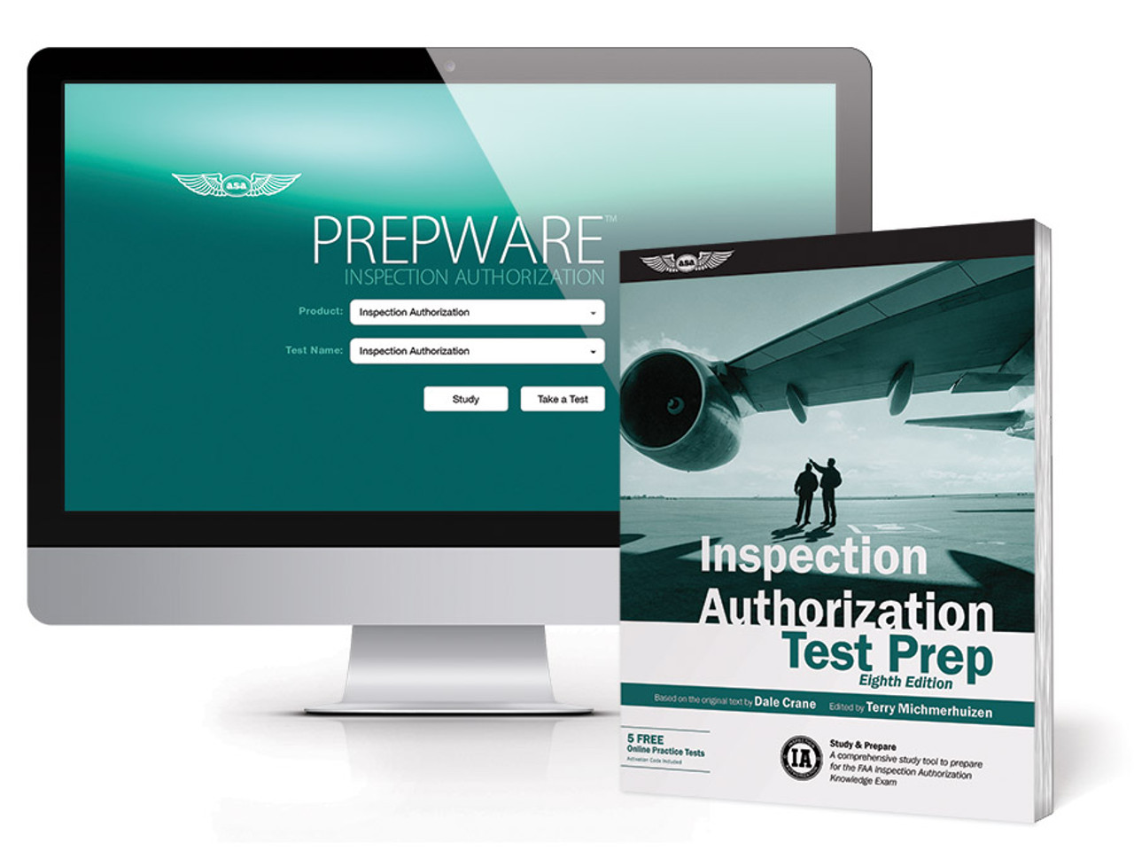 ASA Inspection Authorization Test Prep Bundle - Eighth Edition