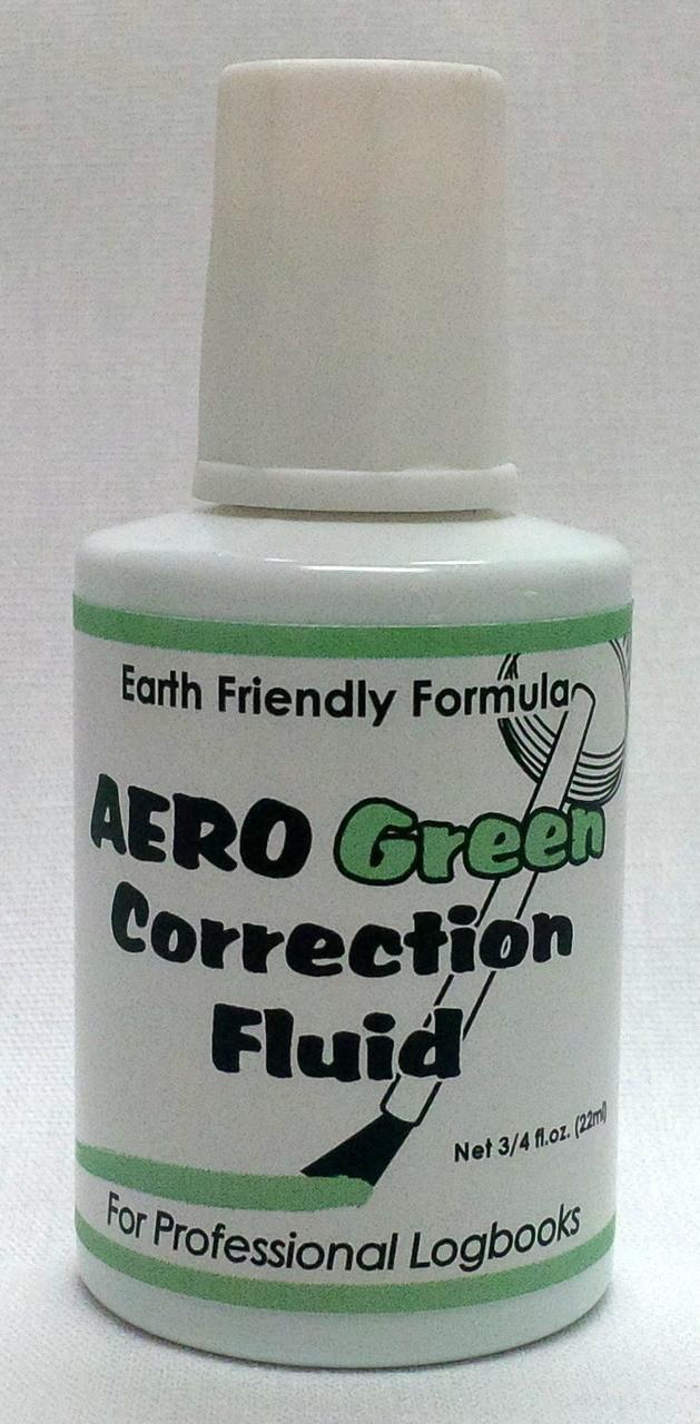 Aero Green Correction Fluid