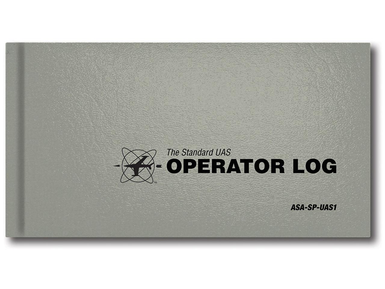 ASA Standard UAS Operator Log - Gray