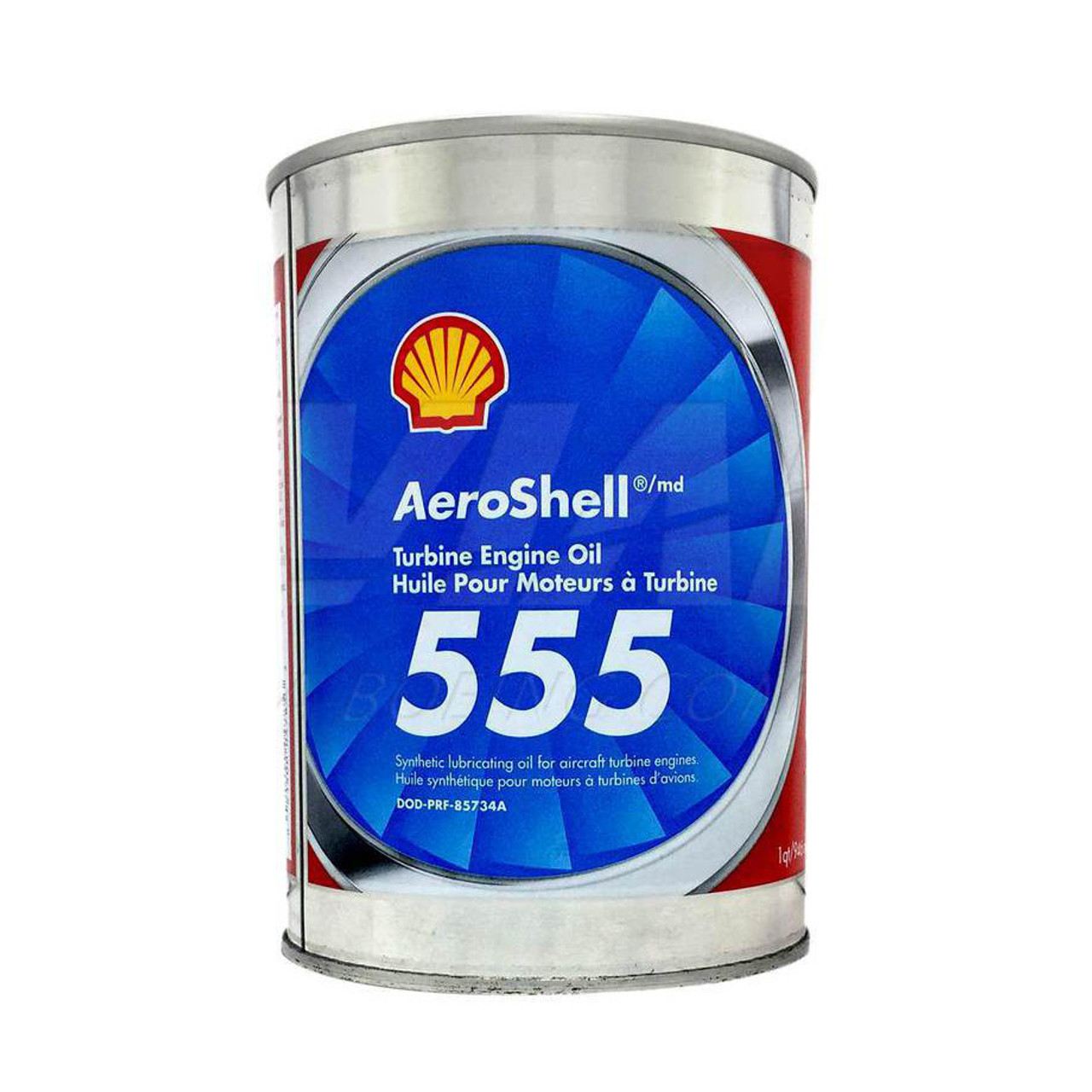 Aeroshell 555 Turbine Engine Oil - 24 Quart Case