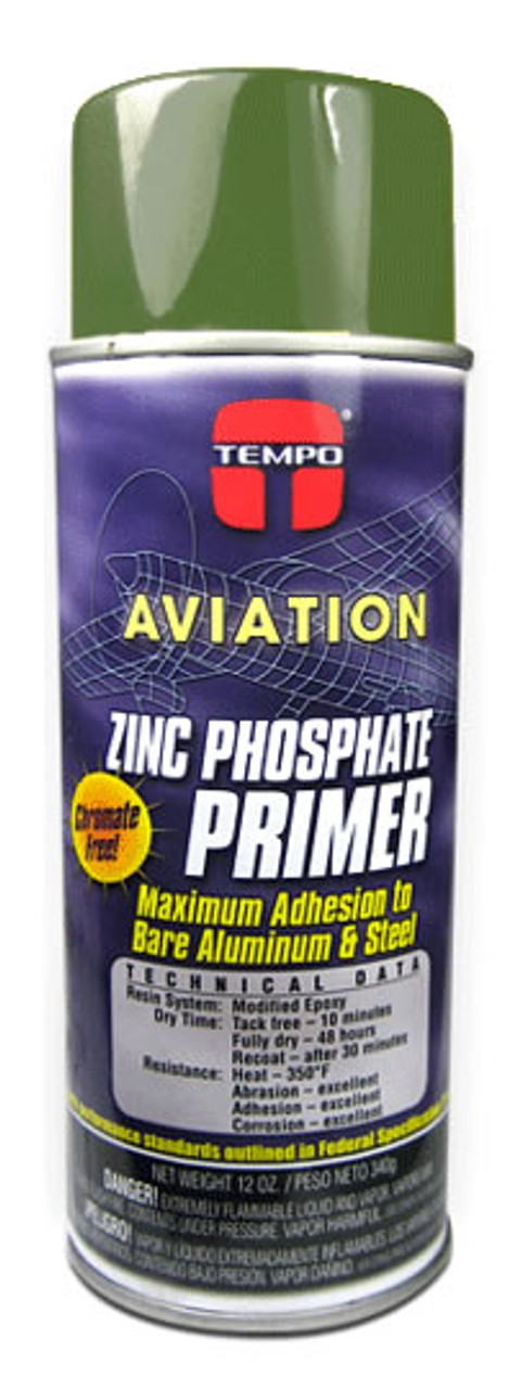 Tempo Aviation Green Zinc Phosphate Primer