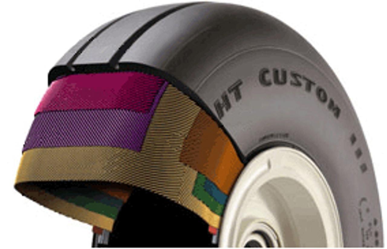 Goodyear® Aviation, TT Flight Custom III Tire 301-043-006