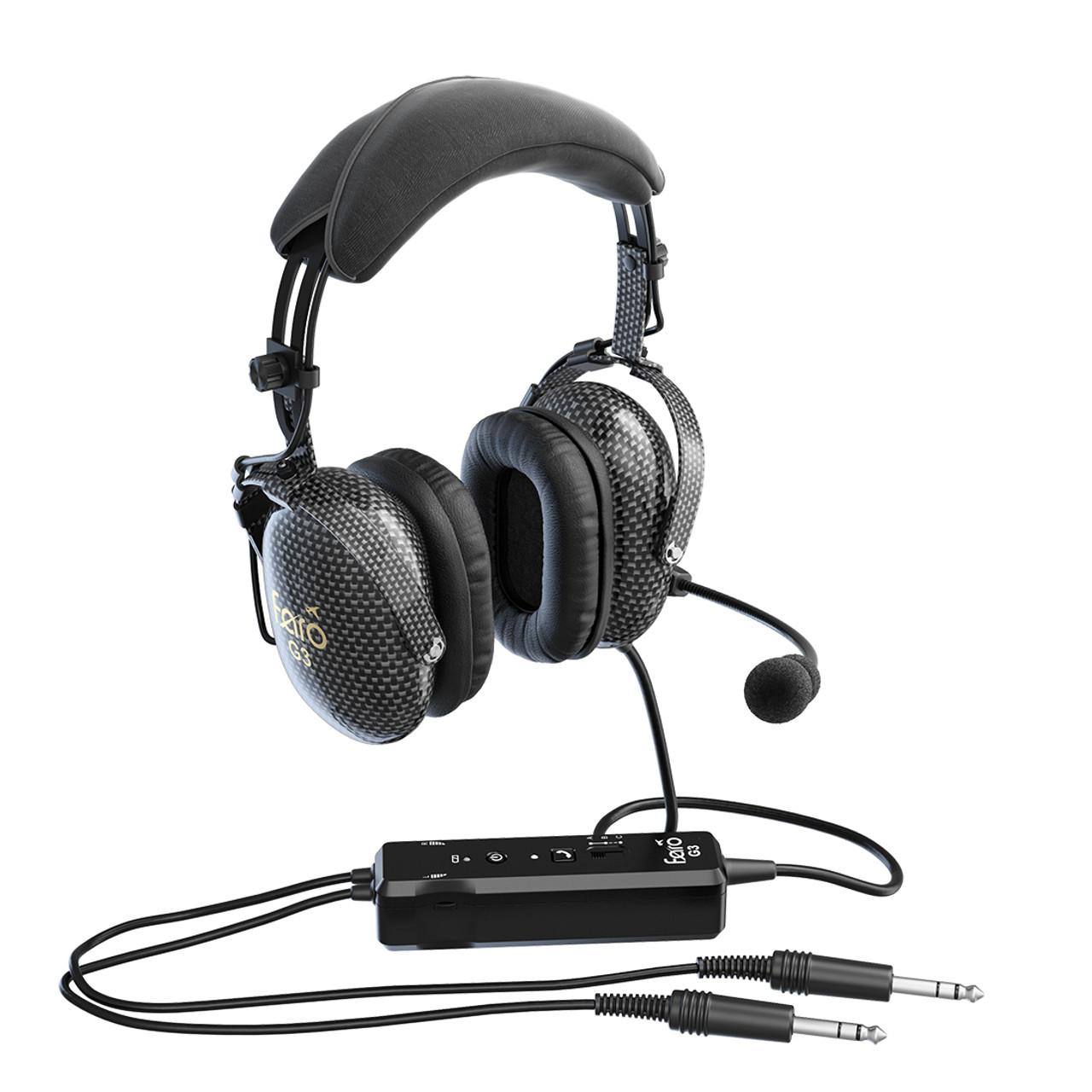 Faro G3 ANR Carbon Fiber GA Aviation Headset