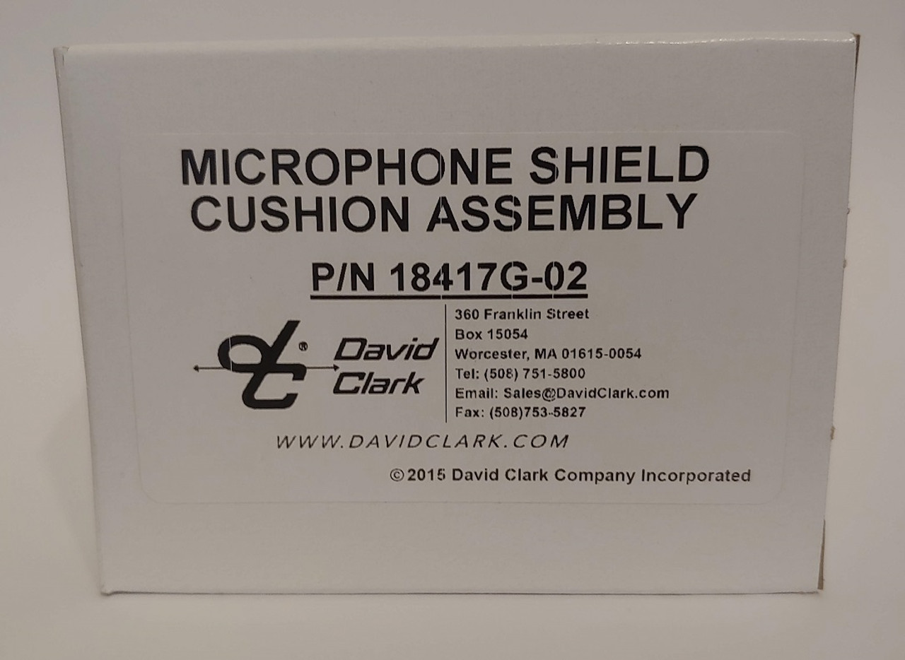 David Clark Microphone Shield Cushion Assembly