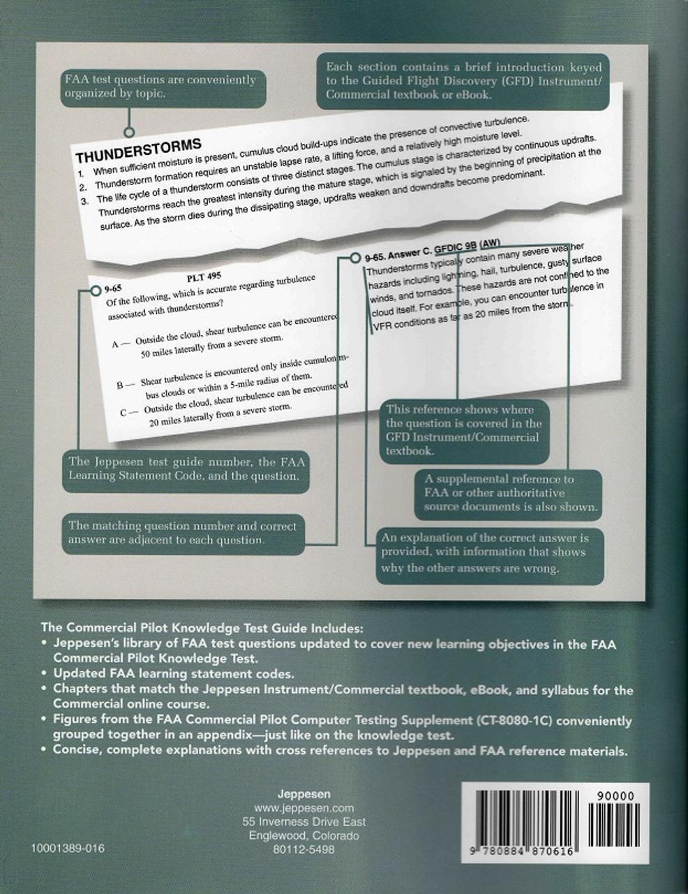 Jeppesen Commercial Pilot Airmen Knowledge Test Guide