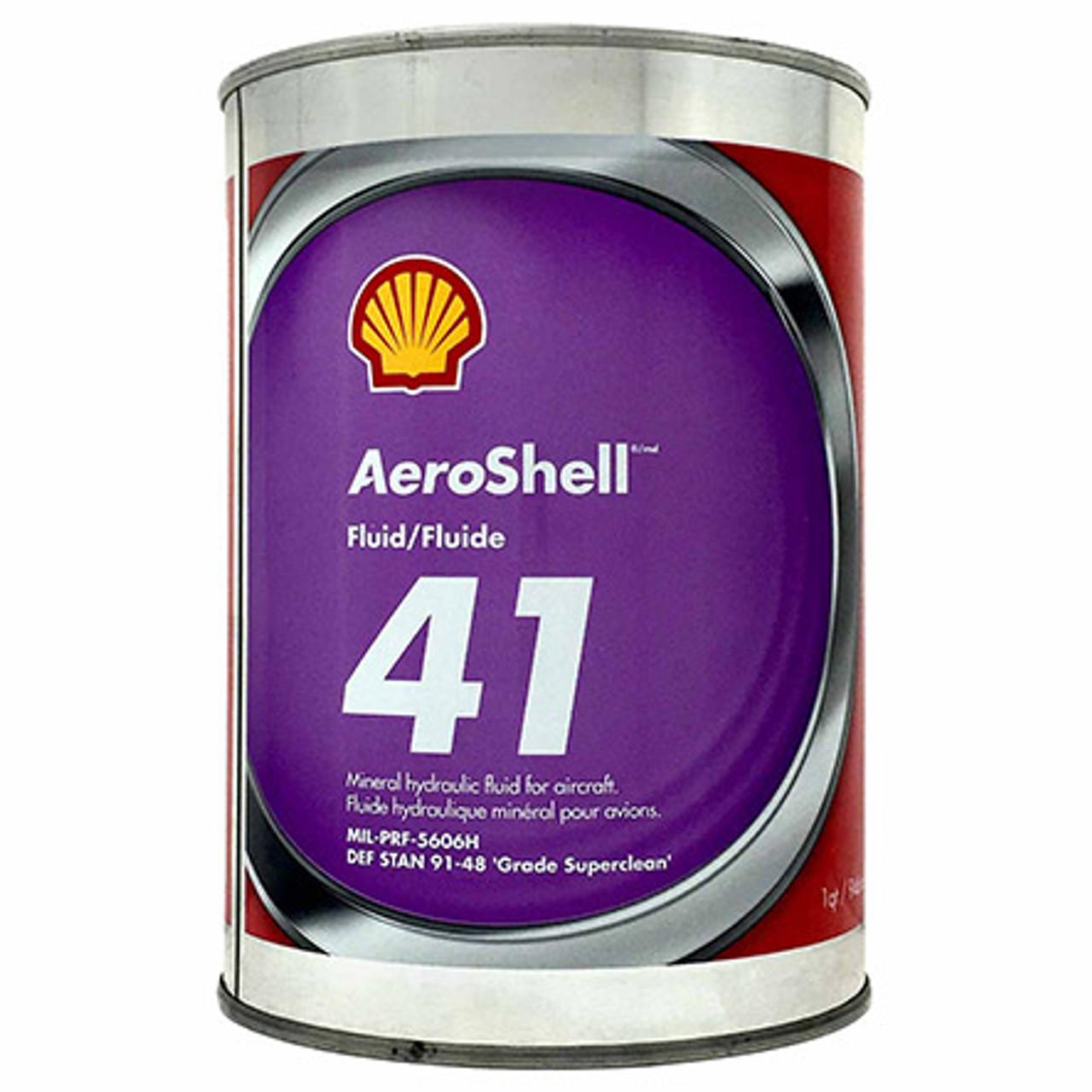 Aeroshell 41 Hydraulic Fluid - 1 Quart