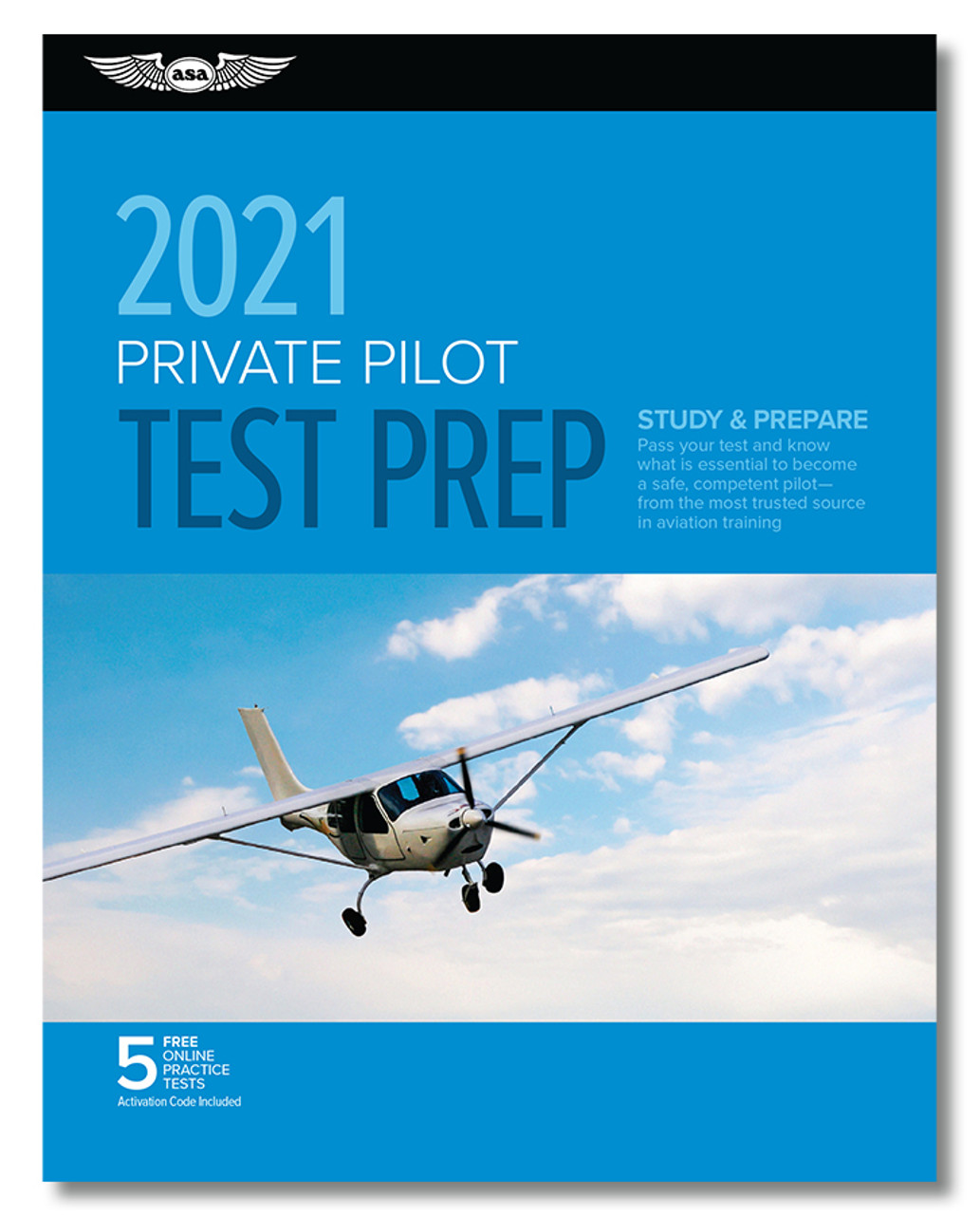 ASA 2021 Private Pilot Rating Test Prep Package