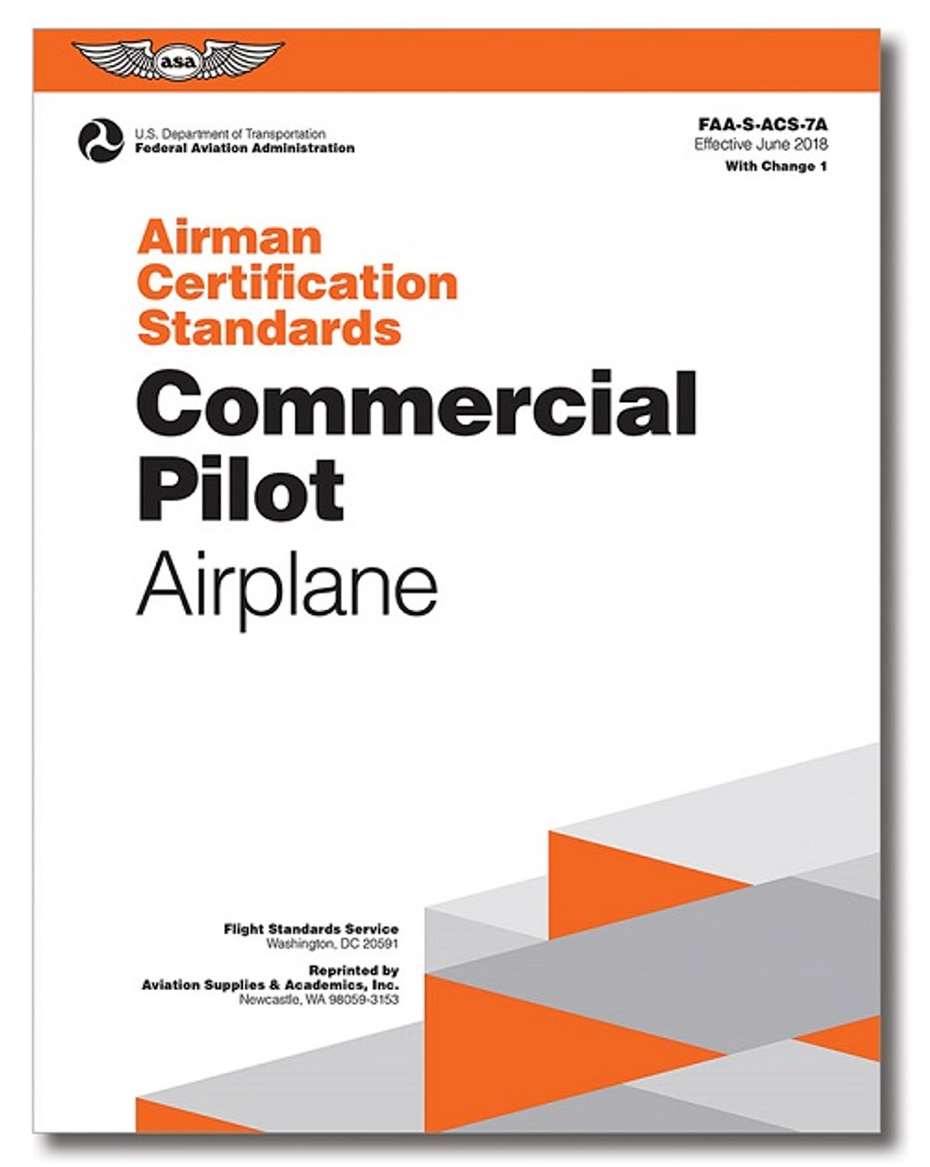 ASA 2020 Commercial Pilot Rating Test Prep Package