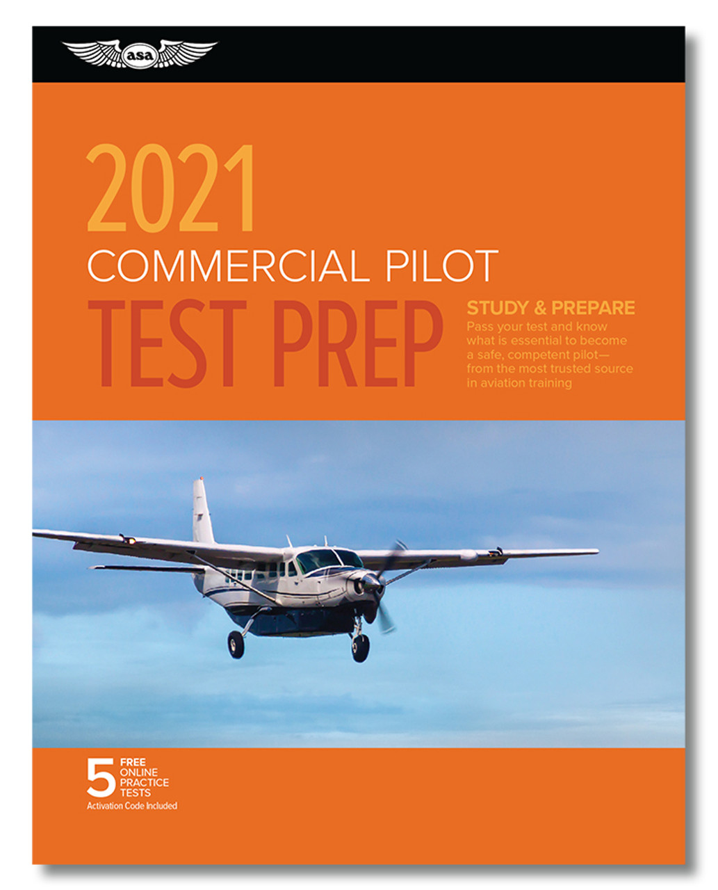 ASA 2021 Commercial Pilot Rating Test Prep Package