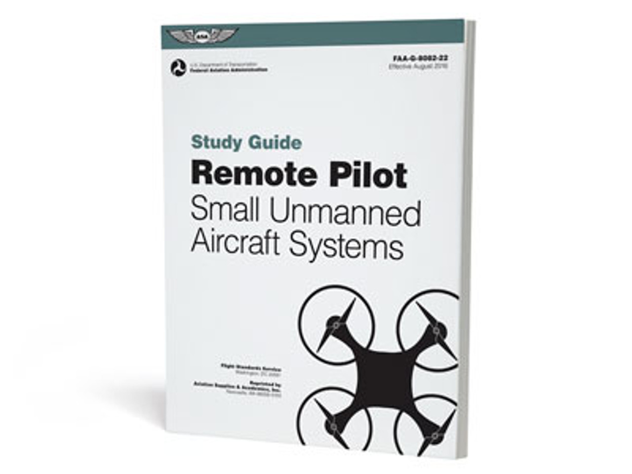 ASA 2020 Drone Remote Pilot UAS Pilot Rating Test Prep Package