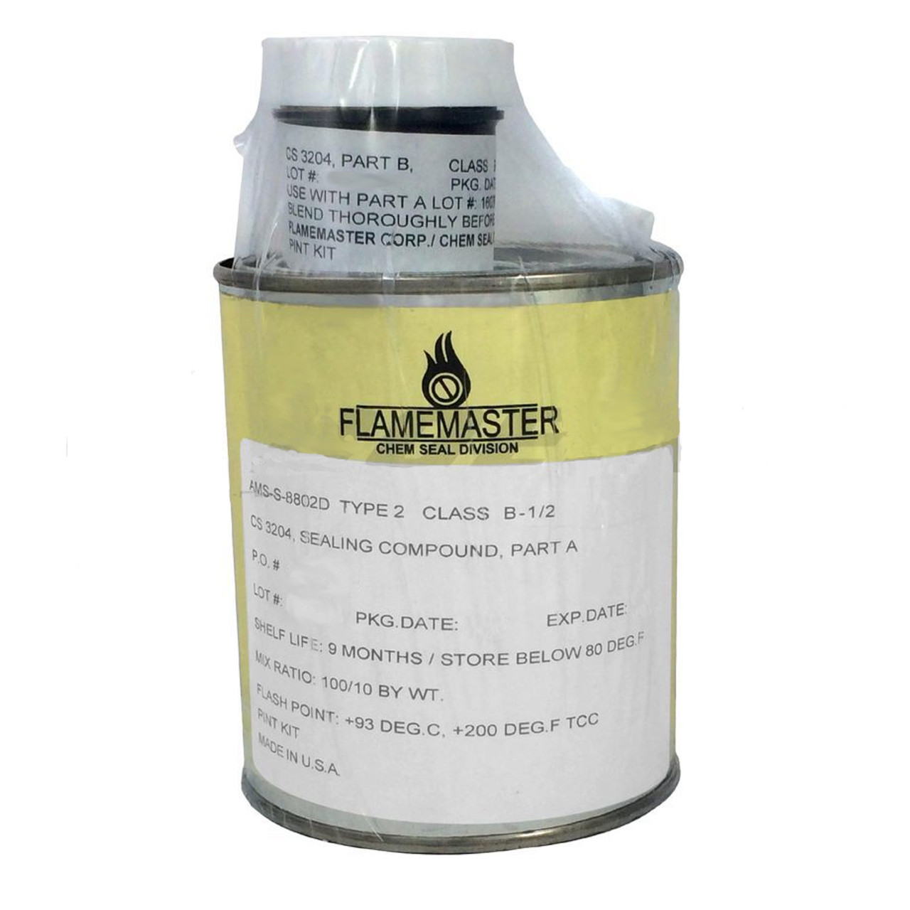 Flamemaster Chemseal CS3204-B1-2-PT Pint
