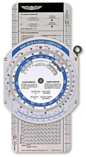 ASA Color E6-B Manual Flight Computer