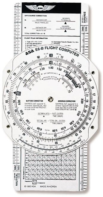 ASA E6-B Paper Flight Computer