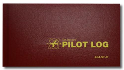 ASA Standard Pilot Log - Burgundy