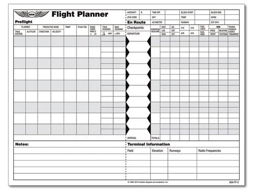 ASA: Flight Planner Pad