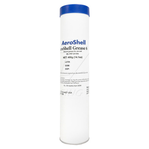 Aeroshell Grease 6 - General Purpose Airframe Grease - 14oz