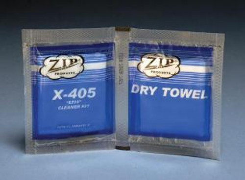 Zip-Chem X-405 Glass and Transparency Cleaner - EFIS Towelette Kit