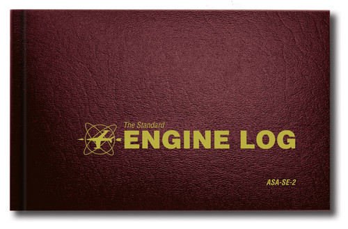 ASA Engine Logbook - Hard Cover