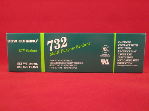 Dow Corning RTV732 Multi-Purpose Silicone Sealant - 305ml (10.3 oz) - Clear