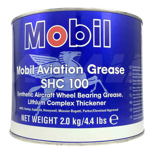 Mobil Aviation Grease SHC 100 4.4 lb can