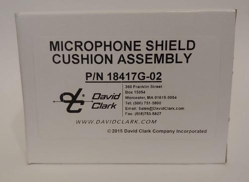 David Clark Microphone Shield Cushion Assembly