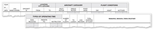 ASA The Standard™ Drone Logbook