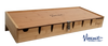 Counter Tray Large #8 Natural Wood - by Vincent