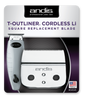 Andis Cordless T-Outliner Square Blade