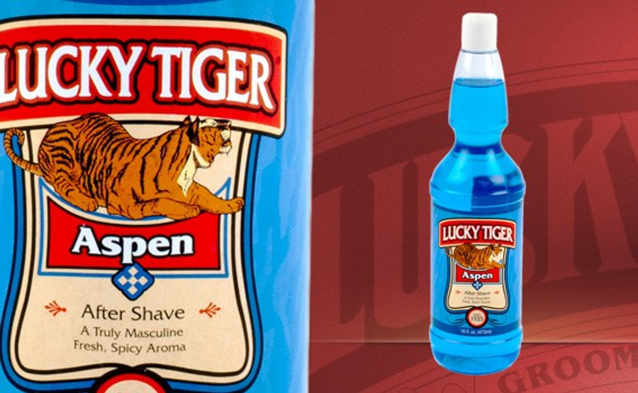 Lucky Tiger Aftershaves
