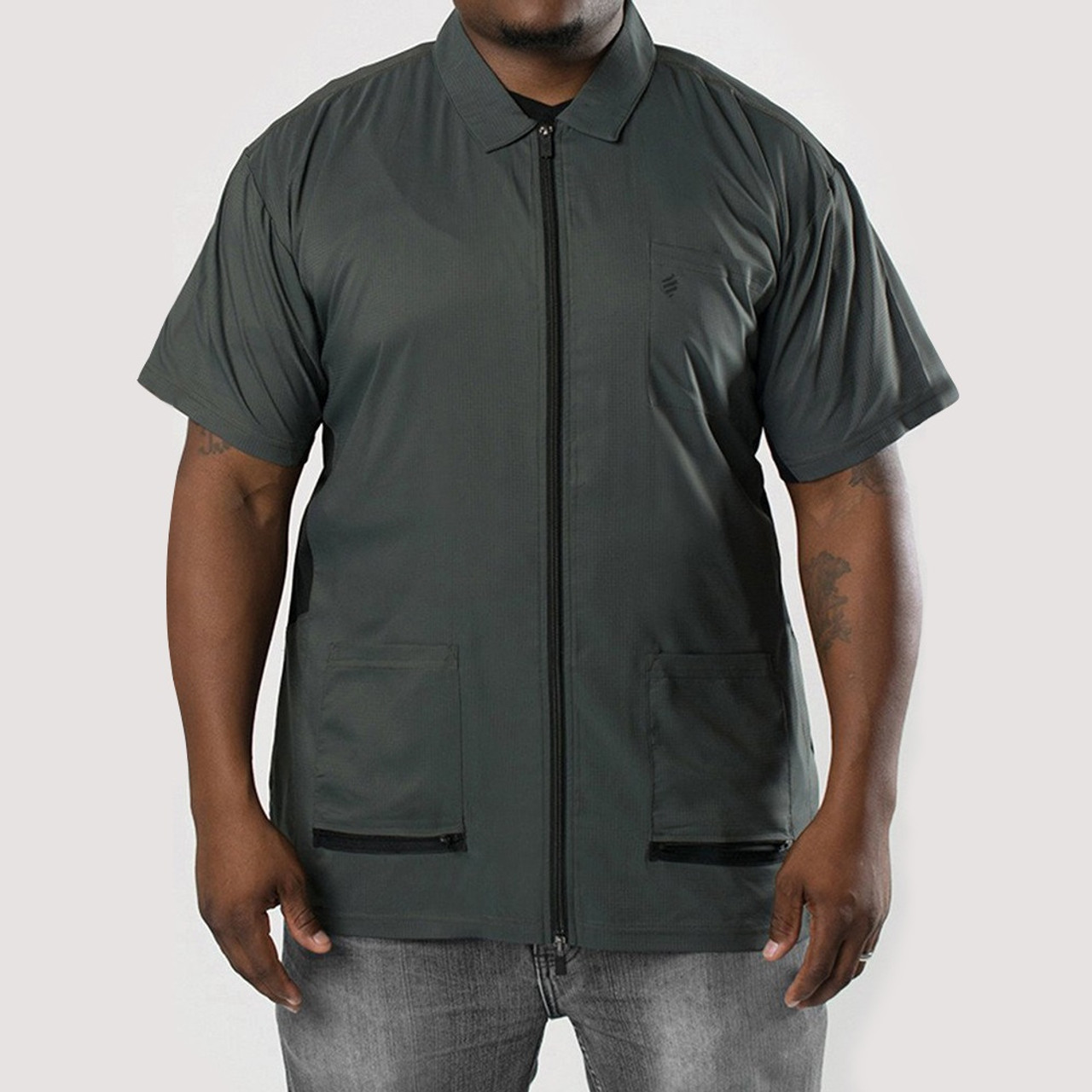 Barber Jacket - Barber Strong Gray