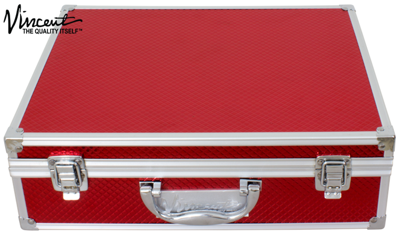 Clipper and Accessory Carry Case Large - Red